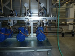 ATEX compliant pump installation with magnetic drive centrifugal pumps