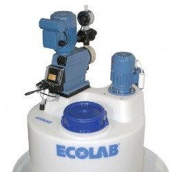 Ecolab Dosingunit with batch tank