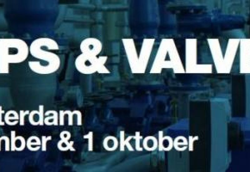 We are happy to invite you to our booth L106 on the Pumps & Valves exhibition in Rotterdam on September 30th and October 1st, 2015.
