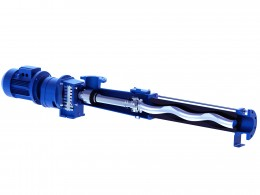 Excentric screw pumps