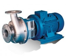 RS pump series with recessed impeller