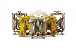 "Versa Matic 1 1/2"" Metal diaphragm pumps"