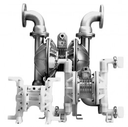 Versa Matic Diaphragm pumps with separated manifolds