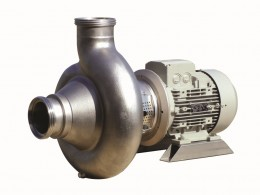 CR pump series with screw impeller